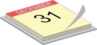 Calendario que muestra los 31   libre illustration