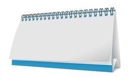 Calendario a spirale, illustrazione di vettore Fotografie Stock Libere da Diritti