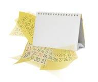 Calendars Stock Photo