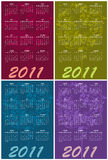 Calendars for 2011 Royalty Free Stock Photo