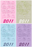Calendars for 2011 Stock Photography