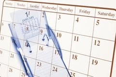 Calendars Royalty Free Stock Images