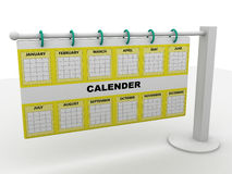Calender Stock Photography