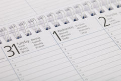 Calender Royalty Free Stock Images