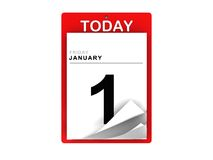 Calender Royalty Free Stock Photos