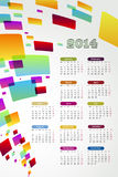 2014 Calender. Abstract background 2014 calender on a white background Stock Photo