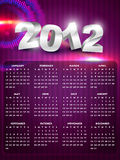 Calender design Royalty Free Stock Images