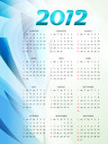 Calender design. Vector new year 2012 calender design royalty free illustration