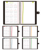 Calender notebooks 2012. Set of notebooks with calenders for 2012 and copy space stock illustration