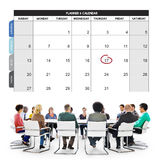 Calender Planner Organization Management Remind Concept Stock Photos