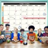 Calender Planner Organization Management Remind Concept Stock Photo