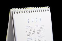 Calendrier 2008 Image stock
