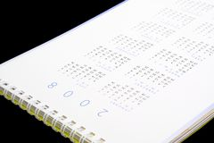 Calendrier 2008 Images stock