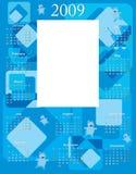 calendrier 2009 de bébé Image stock