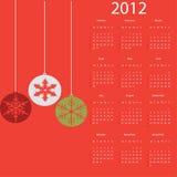 calendrier 2012 Photographie stock libre de droits