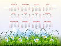 Calendrier 2013 Photos libres de droits