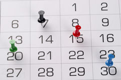 Calendrier Image stock