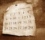 calendrier Photo libre de droits