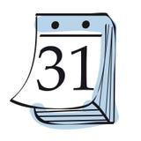 calendrier Photographie stock libre de droits