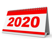Calendrier 2020 Photographie stock