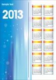 Calendrier de 2013 Photographie stock