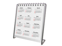 Calendrier de bureau 2008 Photo stock