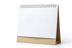 Calendrier de bureau Image stock