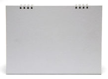 Calendrier de bureau blanc Images stock