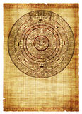 Calendrier de Maya Photographie stock