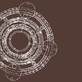 Calendrier de Maya illustration de vecteur