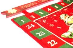Calendrier de Noël Photos stock