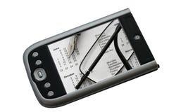 Calendrier de PDA Photo stock