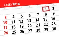 Calendrier, jour, mois, affaires, concept, journal intime, date-butoir, planificateur, vacances d'état, table, illustration de co Illustration Stock