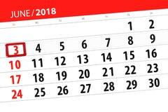 Calendrier, jour, mois, affaires, concept, journal intime, date-butoir, planificateur, vacances d'état, table, illustration de co Illustration Libre de Droits