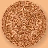Calendrier maya illustration de vecteur
