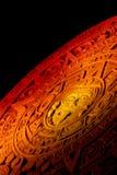 Calendrier maya. Photographie stock libre de droits