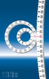 Calendrier maya - nouveau calendrier rond - jour du Jugement dernier Photographie stock libre de droits