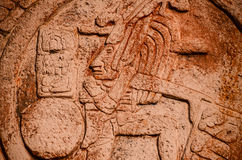Calendrier maya typique Photo stock