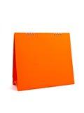 Calendrier orange Image stock