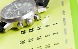 calendrier, prévoyant Photographie stock libre de droits