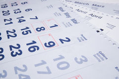 Calendriers Images stock