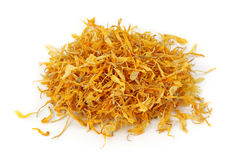 Calendula flower tea Stock Photos