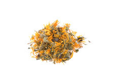 Calendula or marigold dry flower for tea Stock Photo