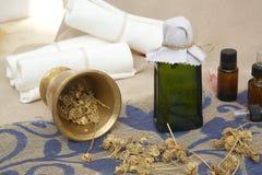 Calendula oil Royalty Free Stock Photo