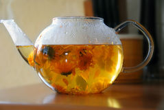 Calendula tea Stock Photography