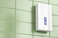 Calentador de agua de Tankless stock de ilustración
