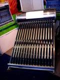 Calentador solar Imágenes de archivo libres de regalías