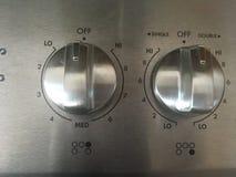 Calentadores de la estufa Fotografía de archivo