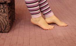 Calentadores de la pierna foto de archivo