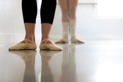 Calentamiento de la danza Imagenes de archivo